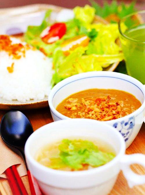 新鮮野菜たっぷりのお食事メニュー